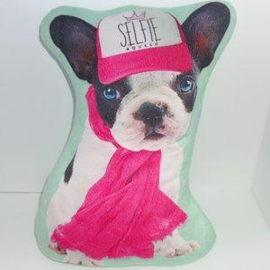 Other - Plush French Bulldog Pillow Selfie #Queen Slogan